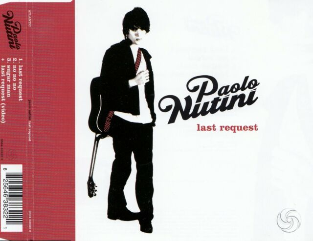 PAOLO NUTINI : LAST REQUEST / CD - TOP-ZUSTAND