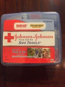 Johnson's First Aid Kit 70 Item