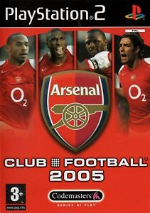 Arsenal-Club-Football-2005-PS2-PlayStation2-Free-Postage-UK-Seller