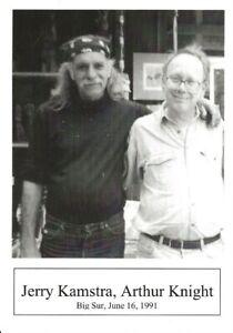 JERRY-KAMSTRA-amp-ARTHUR-KNIGHT-BIG-SUR-CA-6-91-BEAT-WRITERS-PHOTO-POSTCARD-21