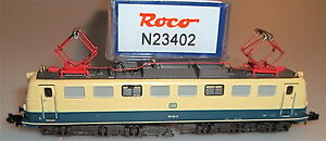150-Locomotiva-elettrica-blu-beige-DB-ep-ROCO-23402-N-1-160-NUOVO-conf-orig