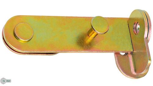 Türschloßriegel Türriegel Schlagladenüberwurf 150x40 Sicherheits-Schlossriegel V