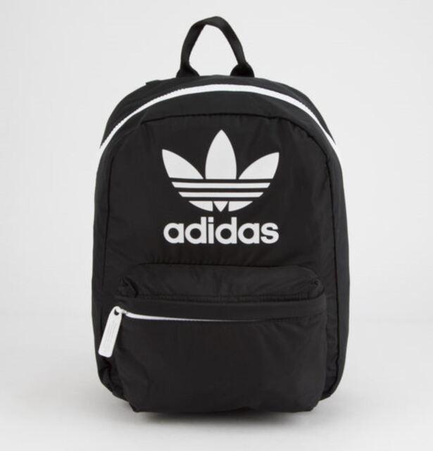 adidas Originals Trefoil Mini Compact Backpack Bag  5145051 Black for sale  online