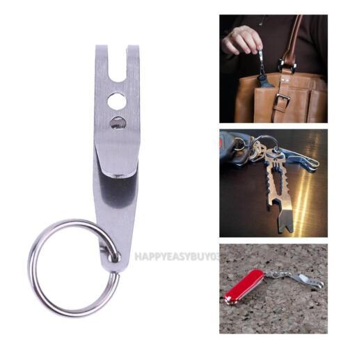 Mini EDC Gear Pocket Suspension Clip Hanger Tool w// Key Ring Keychain Keyfob 4g