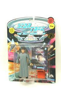 NEW-Sealed-STAR-TREK-TNG-Playmates-5-034-Figure-DATA-as-Romulan-Caps-7th-Sn