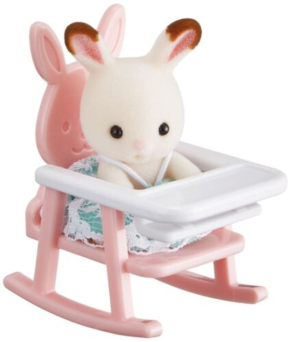JP Sylvanian Families B-31 Baby House Doll with Baby Chair
