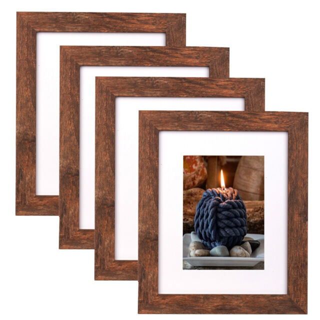 Wall Picture Frames Set Of 11 With Hanging Template 3 8x10 8 5x7 Inch Black For Sale Online Ebay