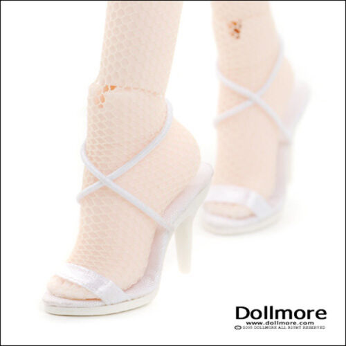 [Dollmore]  16inch  doll shoes  Fashion doll Size - Basic String Sandals (White)