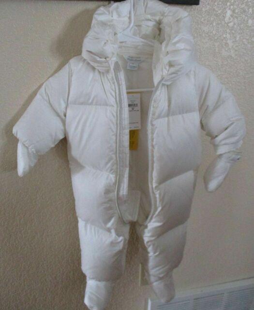 Ralph Lauren Polo Baby Girls Down Puffer Jacket Size 3M 3 MONTHS NEON PINK BLUE