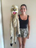 "Vintage 1977 1989 Wynn Miller's Mopkins Monkey 46"" Full Body Hand Puppet"