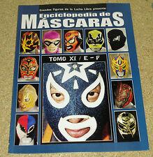 Enciclopedia De Mascaras Tomo  XI Lucha Libre Wrestling Mask Encyclopedia