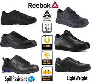 0bc63e4cde38 Reebok Service Work Slip Resistant men s athletic shoes Lightweight ...