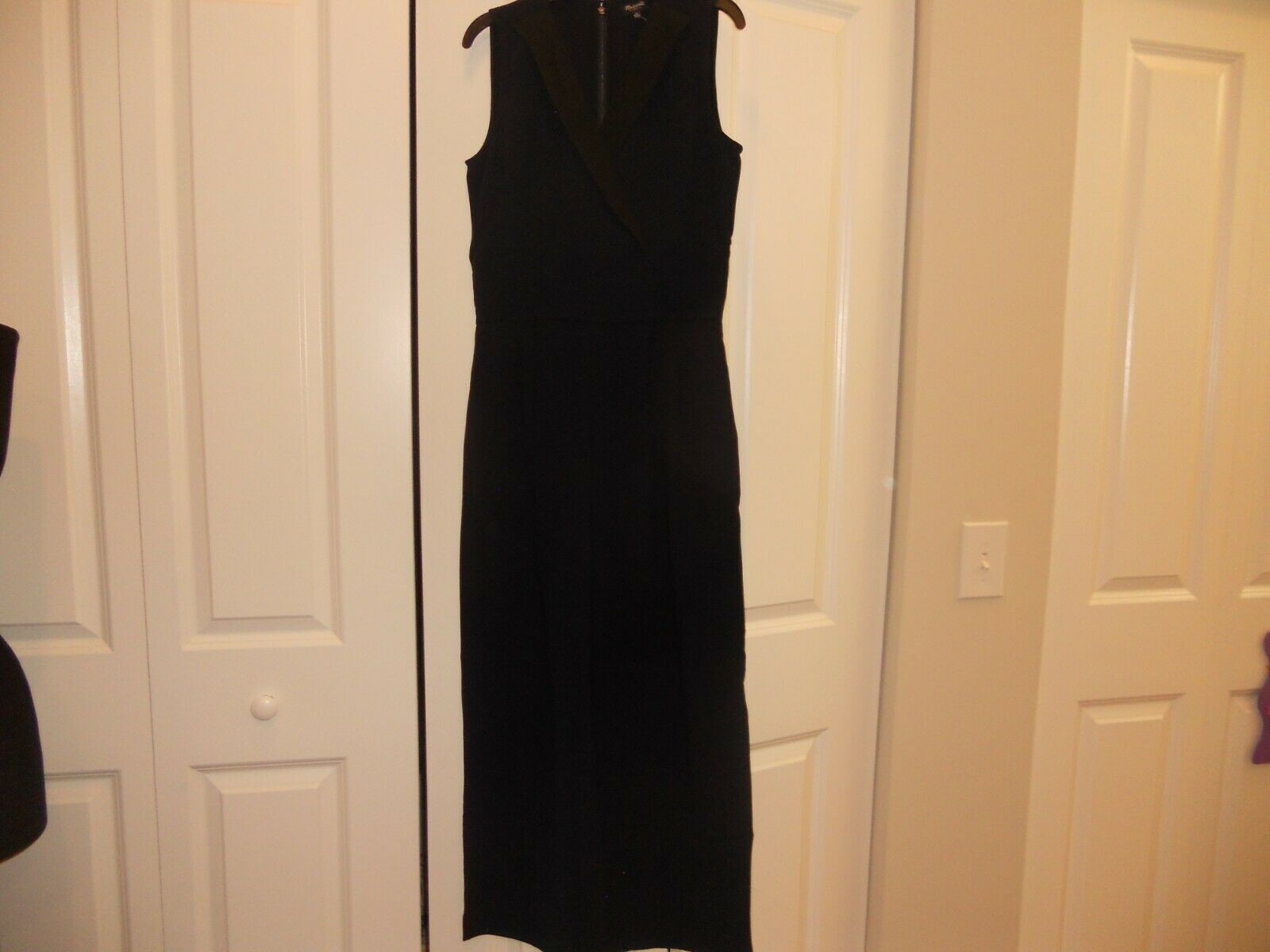 NWT MADEWELL 1937 TUX JUMPSUIT SLEEVELESS IN NIGHT VISION SIZES 0 & 14