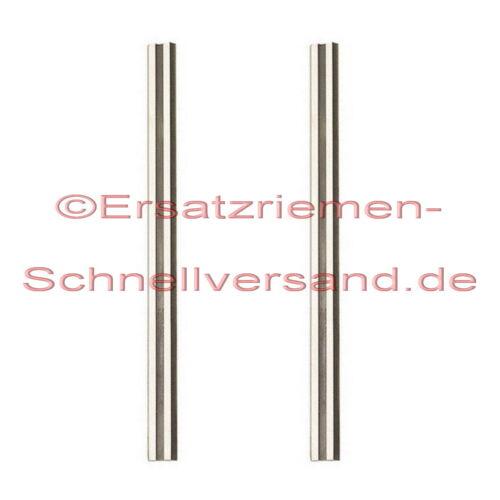 2 HM tournant couteau//rabot couteaux pour rabot//Rabot électrique Rabot Bosch PHO 3100//pho3100