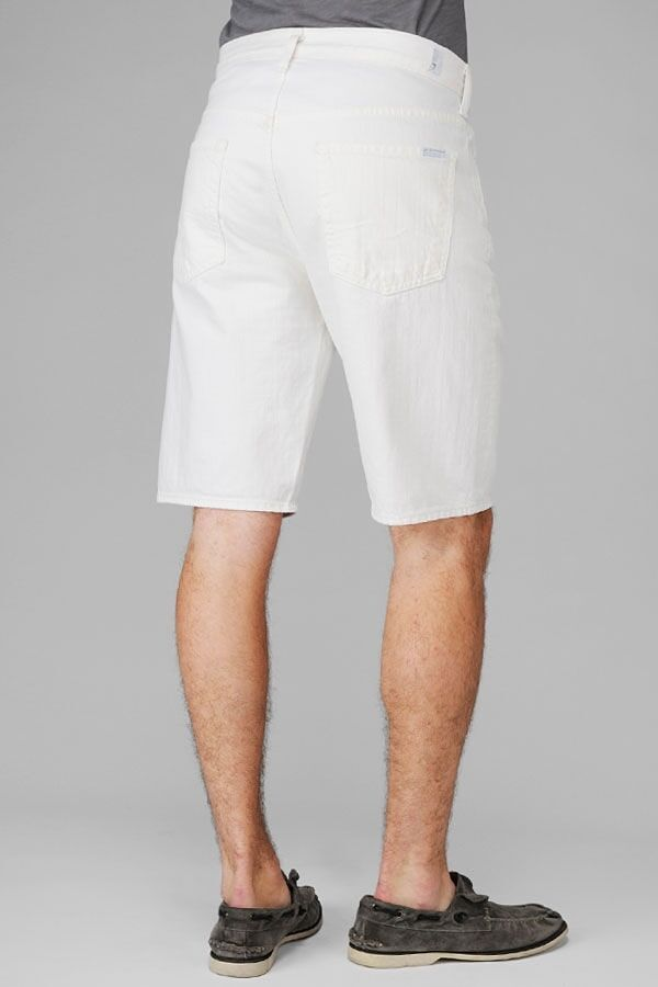 7 SEVEN FOR ALL MANKIND Men's Shorts Retail 138
