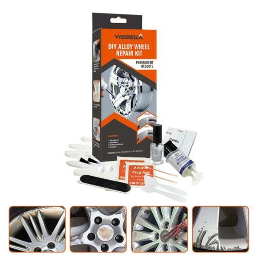 DIY Alloy Wheel Repair Adhesive Kit General Paint Fix Tool For Car Rim Dent Care