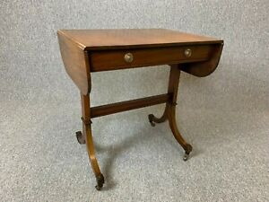 Astounding Details About Antique Regency Style Mahogany Sofa Table Occasional Table Drop Leaf Delivery Andrewgaddart Wooden Chair Designs For Living Room Andrewgaddartcom