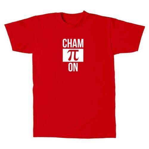 T-shirt Hommes-CHAMPION PI-mathématiques maths Fun
