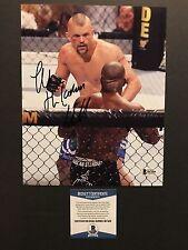 Chuck Liddell Hot! Signed Autographed MMA UFC 8x10 Photo Beckett BAS Cert