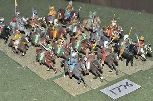 25mm-Medievale-Saracena-20-Cavalleria-in-metallo-verniciato-CAV-1776
