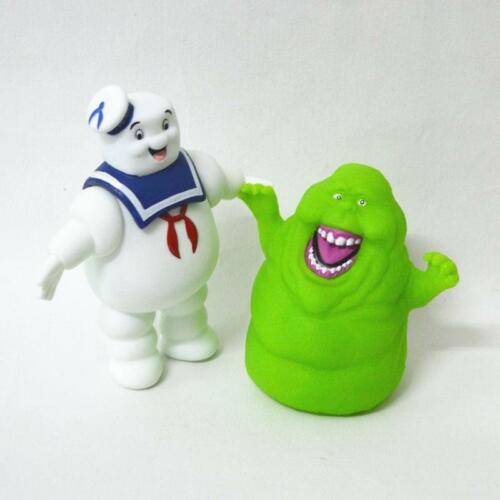 Ghostbusters Marshmallow Man Slimer Green Ghost Action Figure Toys Gift XMAS NEW