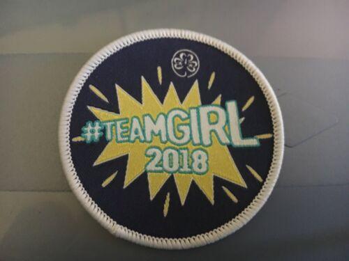 WAGGGS #TeamGirl 2018  Badge