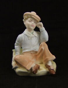 Coalport-Figurine-039-Wednesday-039-s-Child-is-Full-of-Woe-Made-in-England