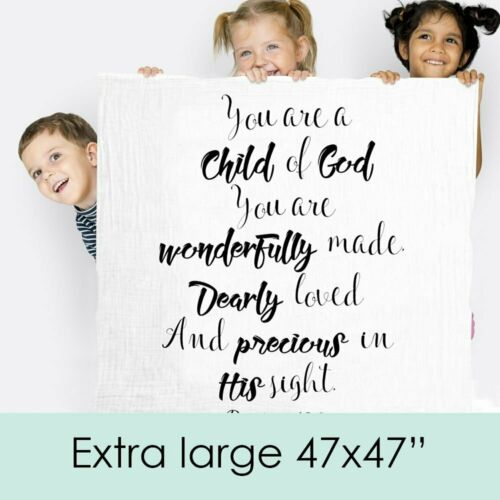 Child Of God Baby Swaddle Blanket