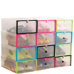 Image Is Loading 4 8 12 20PCS Foldable Plastic Drawer Case