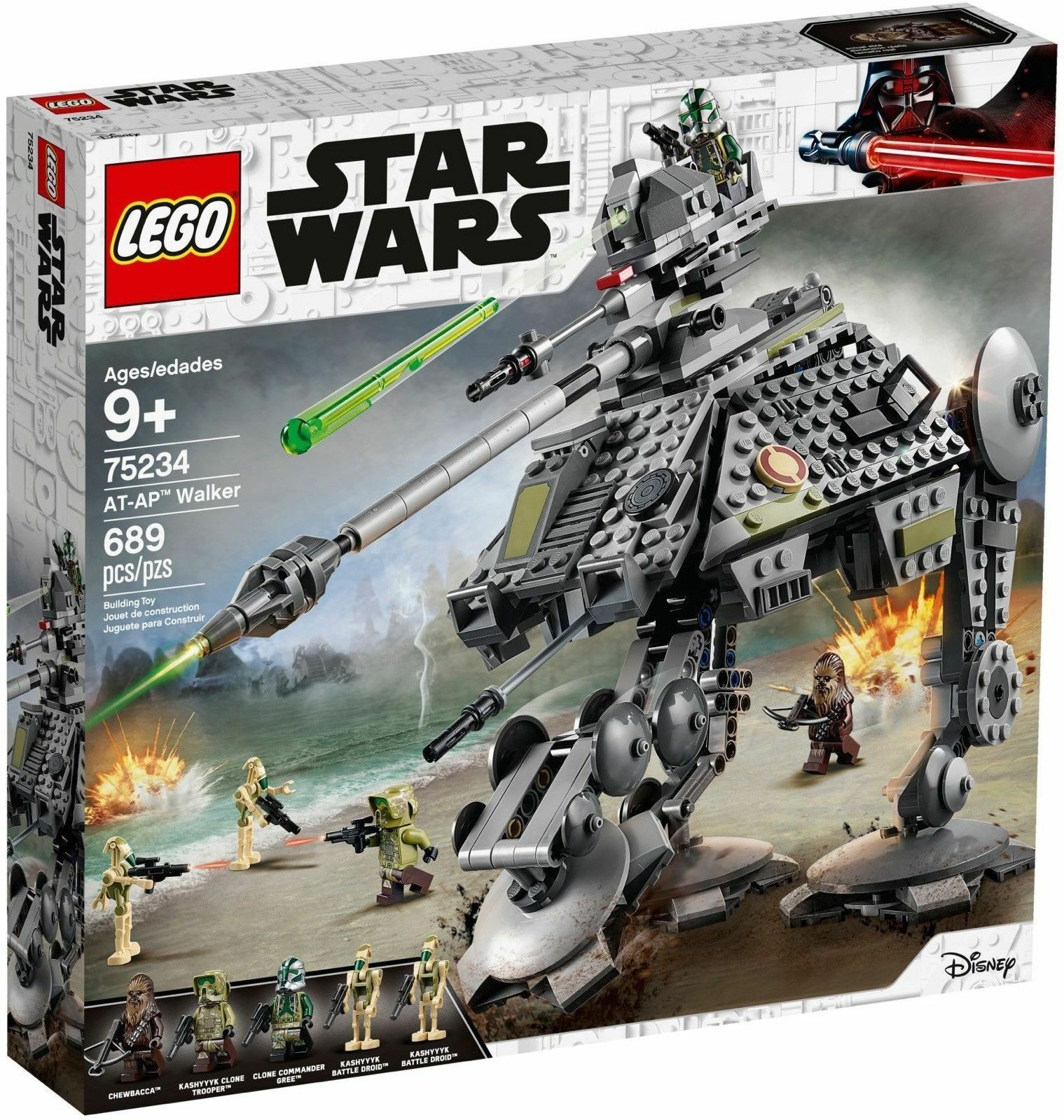 LEGO STAR WARS 75234 WALKER AT- AP    NUOVO