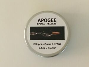 Apogee-Spiked-Air-Gun-Pellets-177-4-5-mm-cal-Qty-250-Free-P-amp-P