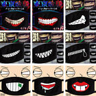 Cute Smiley Emoji Cycling Anti-Dust Mouth Face Mask Men Women Teeth Pattern NEW
