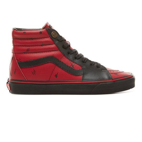 Brand New Vans Vans Vans Marvel Avengers SK8-Hi Deadpool Leather VN0A38GEUBJ sz 7 d843c1