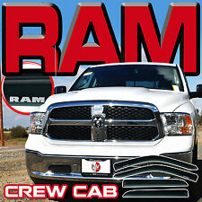 09 10 11 12 13 14 15 16 17 RAM CREW CAB WINDOW VISORS SUN SHADES RAIN DEFLECTORS