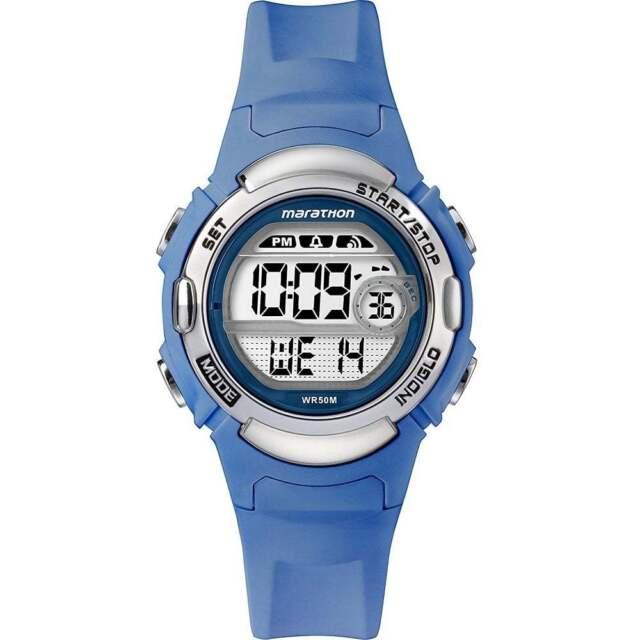 ae5bb27c9 Timex Marathon Digital Blue Ladies Watch TW5M14400 for sale online ...