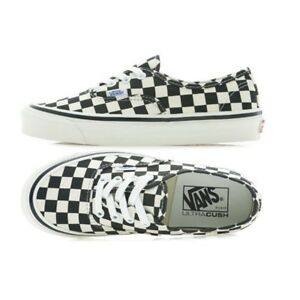 5b0697a4a2 VANS 100% Authentic Checkerboard 44 DX Anaheim Factory Black US Size ...