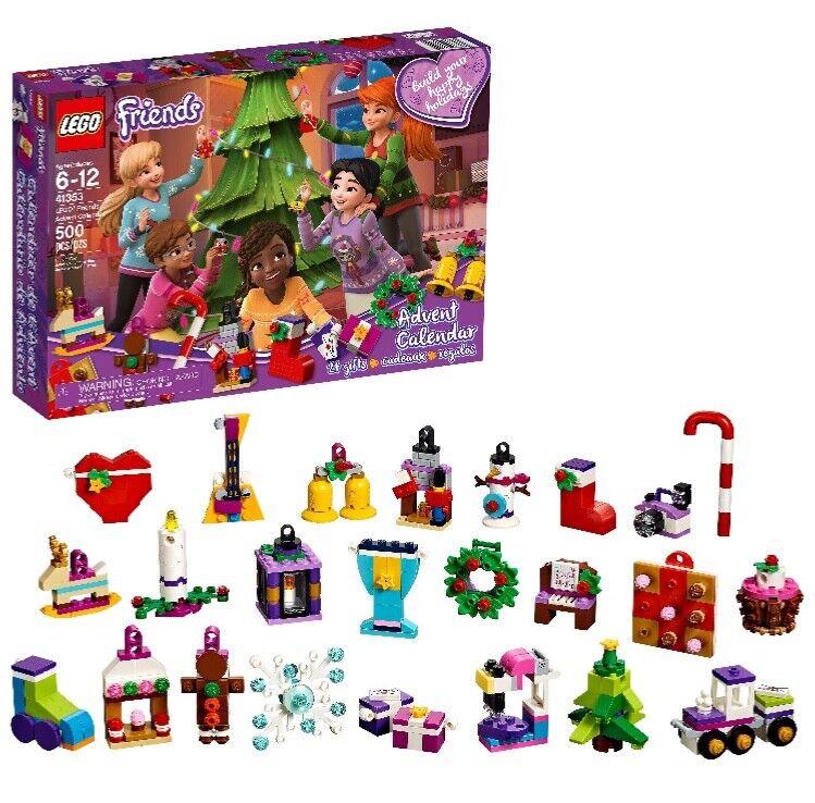 LEGO Friends Advent Calendar, Nuovo 2018 Edition, Small Building Toys, Christmas