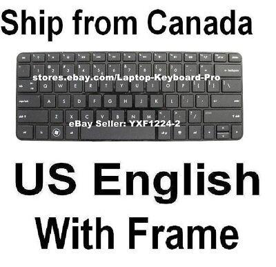 Qwerty UK palmrest with keyboard for HP PAVILION TOUCHSMART 11-E //HP436-UK-P