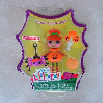 Pumpkin Candle Ligh Mini Lalaloopsy Doll MGA Target Exclusive 2013 Halloween Toy