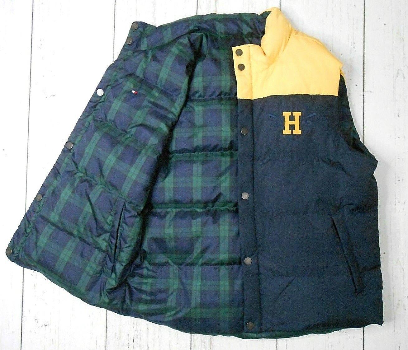 TOMMY HILFIGER Reversible Down Puffer Vest L Plai… - image 2