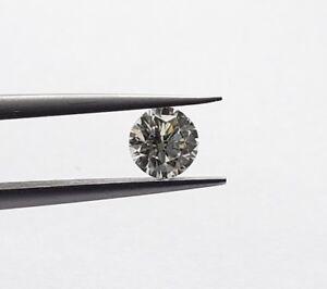 0.43 Carat Certifié Gia Rond Brillant Diamant Seul L Couleur Vs2 Clarté Oowd6nv4-08012552-731492850