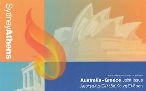 SYDNEY-ATHENS-AUSTRALIA-GREECE-JOINT-ISSUE-STAMP-PACK-MINT-amp-PERFECT-Condition