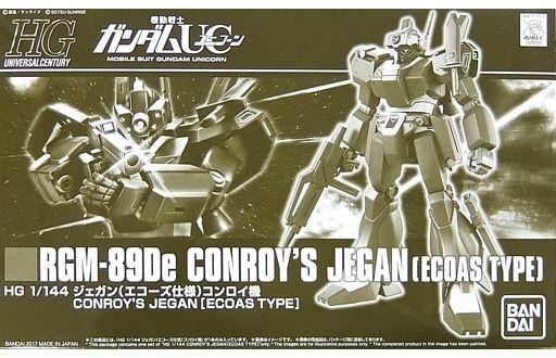 BANDAI HGUC 1 144 RGM-89De CONROY'S JEGAN ECOAS TYPE Model Kit Gundam UC NEW F S