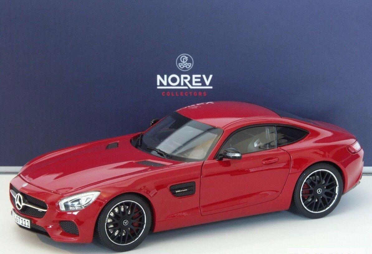 NOREV NOREV NOREV 2015 MERCEDES AMG GT S C190 Red Metallic 1 18 New  c195f2