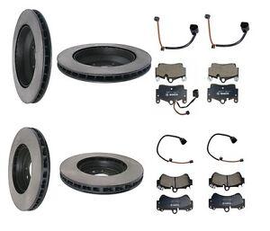 Mercedes Benz Brake Pads And Rotors >> VW Touareg 04-07 V6 3.2L Hight Quality Full Brake Kit ...
