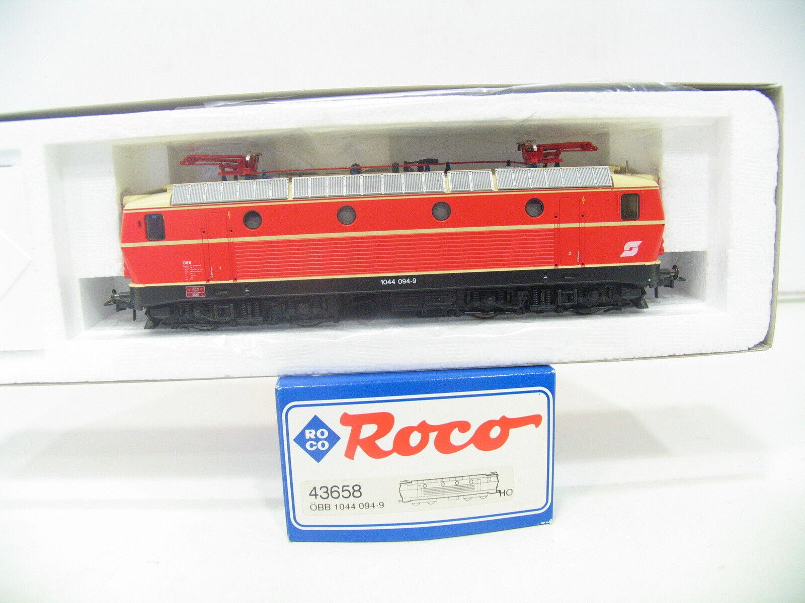 ROCO 43658 E-LOK BR 1044 094-9 orange der ÖBB   XL152