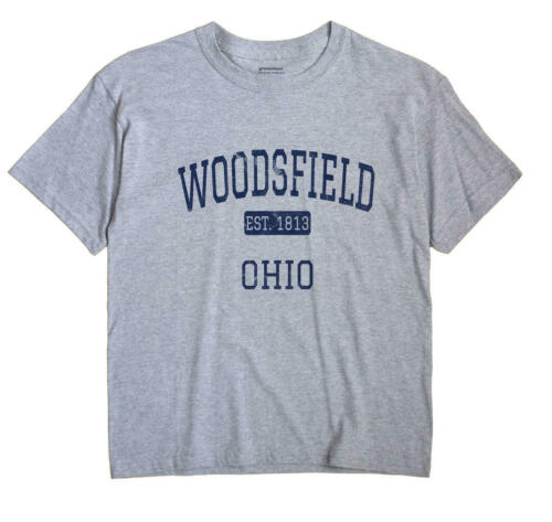Woodsfield Ohio OH T-Shirt EST