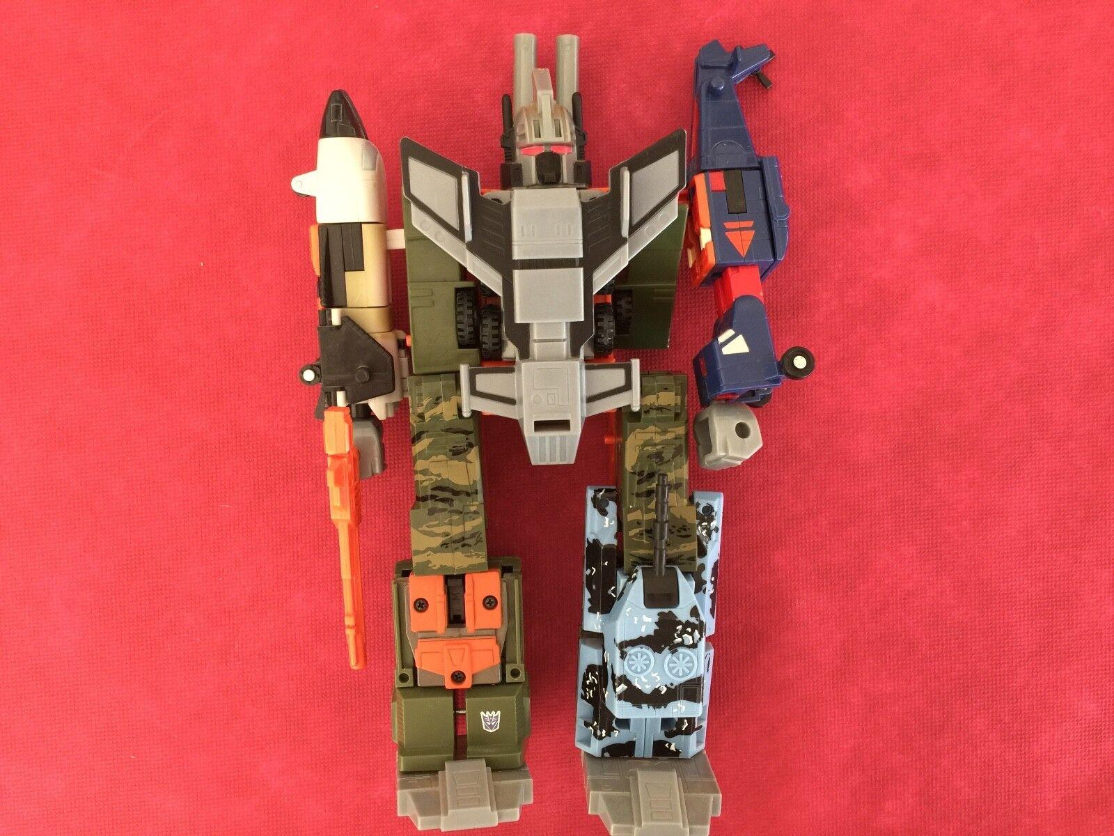 Transformers R.I.D 2001 RUINATION (bruticus) loose figure combiner hasbro