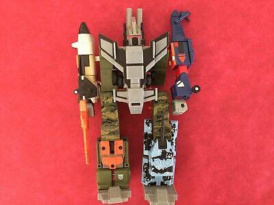 bruticus Transformers RID 2001 ROTOR complete figure RUINATION