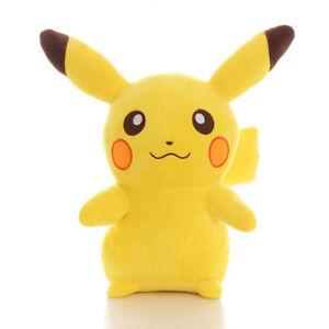 cartoon-Anime-Pikachu-Soft-Plush-Animal-Toy-10-039-039-Large-Stuffed-Doll-Kid-Cushion